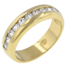 Classic Gold Eternity Band