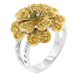 Bloom of Hearts Ring