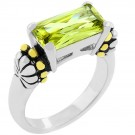 Christine's Peridot Ring