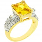 Yellow Fashion Ring