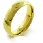 5mm IPG Gold Stainless Steel Band